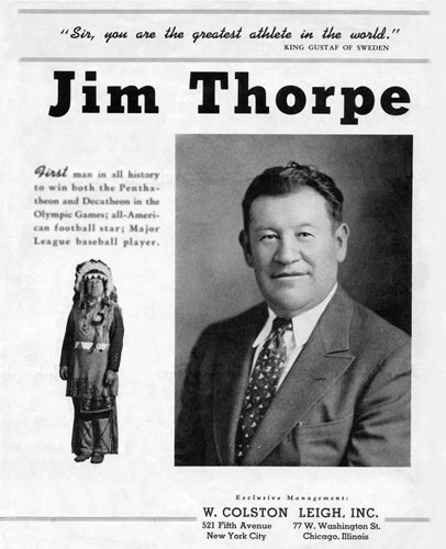 JIM THORPE Historic Photographs